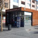 Kiosk auf dem Neutorplatz