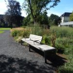 Neue Verweilmöglichkeit im historischen Stadtpark (nachher)