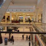 weihnachtliches Einkaufscenter